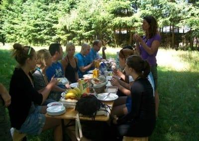Solex tocht met picknick