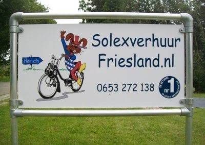 Solex huren in Friesland