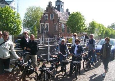 Solex rijden Friesland