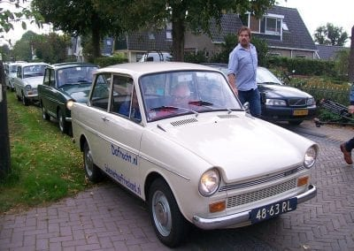 Daftocht door Friesland