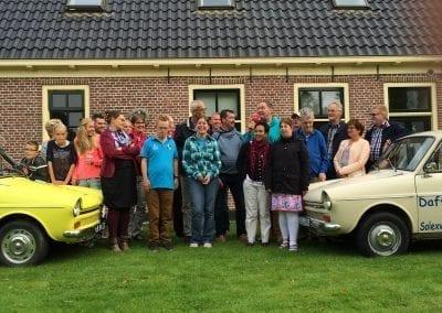 Dagje uit met familie Friesland